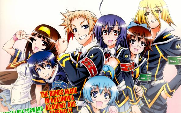 Medaka_Box_Fim_End_Manga_Anime