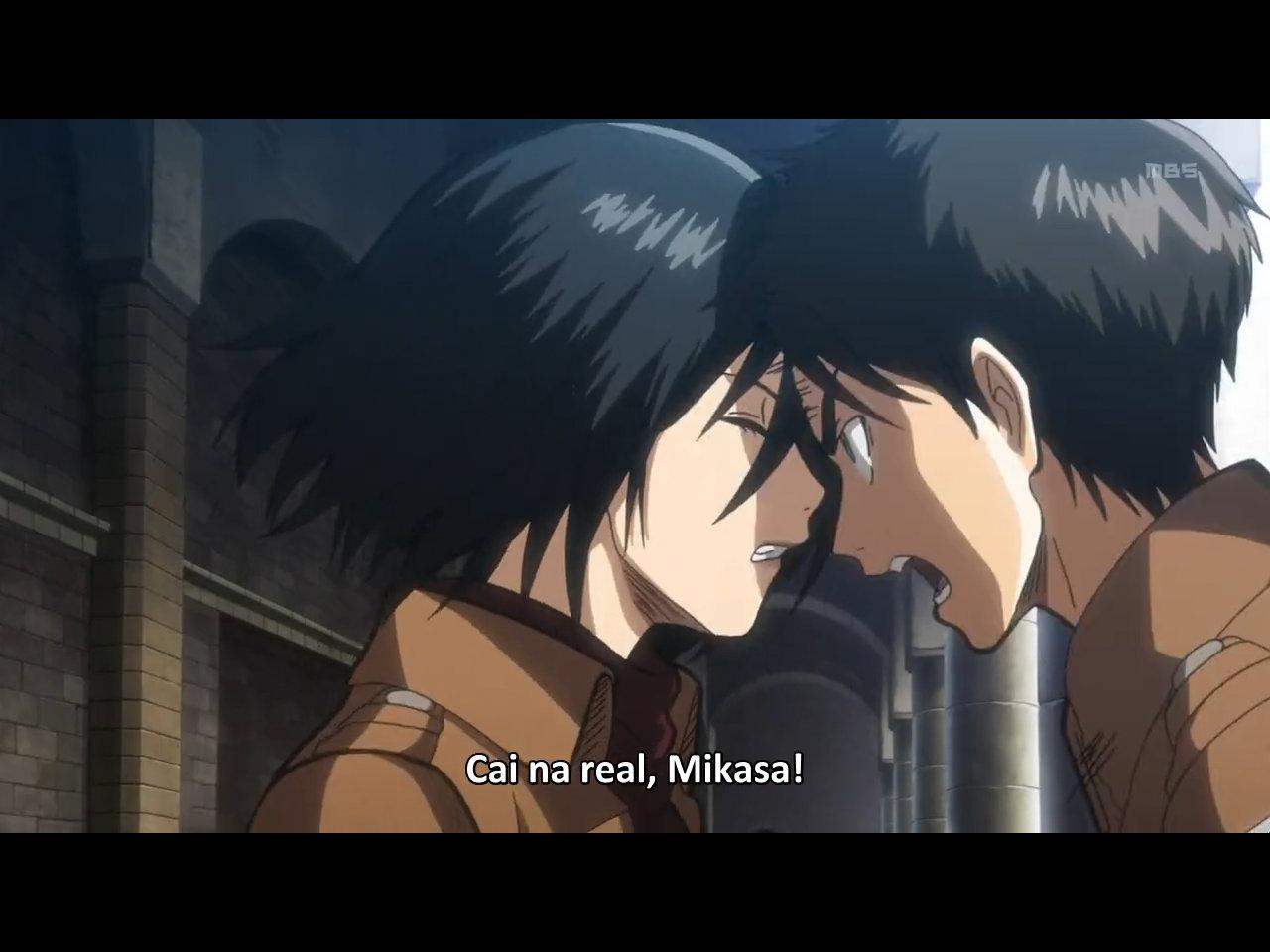 eren x mikasa kiss - photo #13