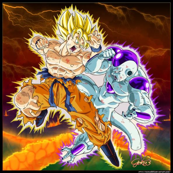 GOKU_VS_FREEZA!