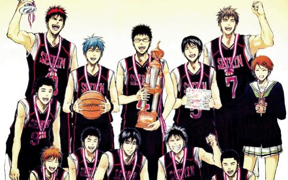 Kuroko-no-Basket-anime-manga