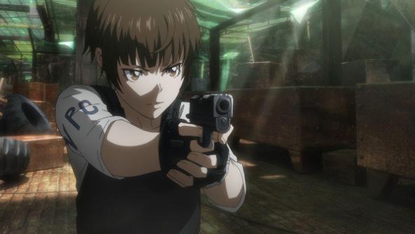 pq sera q ela ta usando uma arma normal e nao uma dominator!!!
